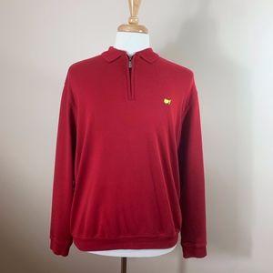 Bobby Jones Masters 3/4 Zippered Pullover NWOT